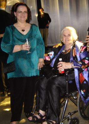Debbie & Anne McCaffrey